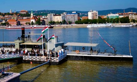 Kikötött Vácnál a monarchia egyik hadihajója a Lajta Monitor