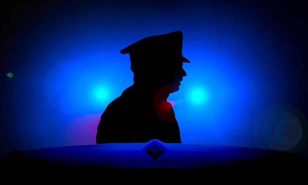 Baleset, rendőr