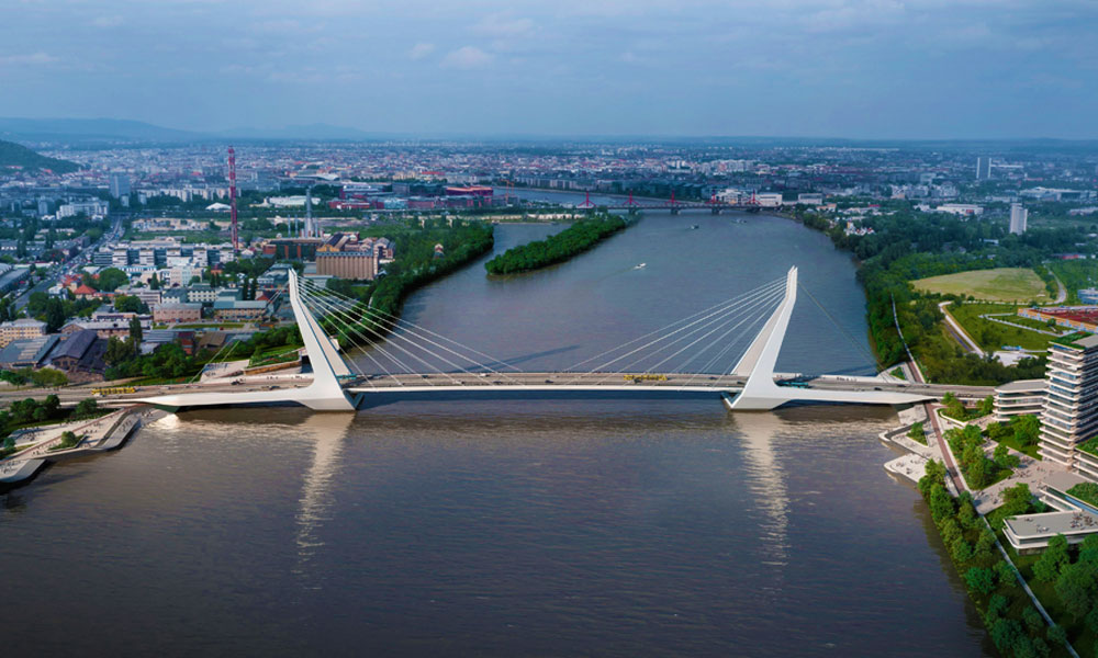 Itt vannak a képek az új budapesti Duna-hídról! A déli agglomerációban élők örülhetnek