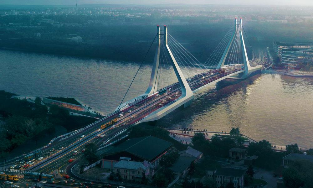 Az új dél-budai híd