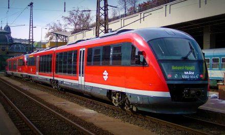 Ennyit késnek a vonatok a Budapest-Győr vonalon