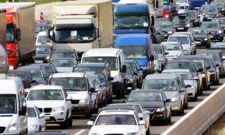 Torlódik a forgalom az M0-ás déli szektorában