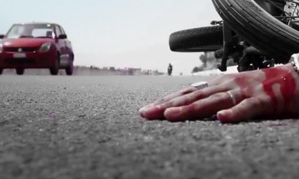 Motorkerékpár ütközött személygépkocsival Pilisvörösvárnál