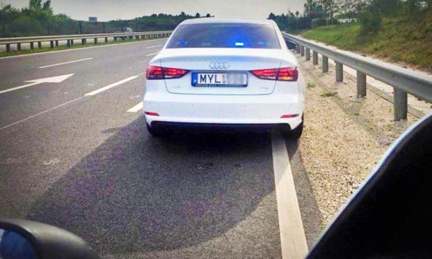 Új traffipax-módszer, ilyen civil autókból is mérnek Budapest környékén!