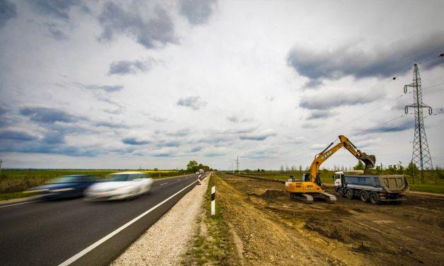 Kinek lehet zajos a kertje az M1-es autópályát Esztergommal összekötő új R11-es úttól?