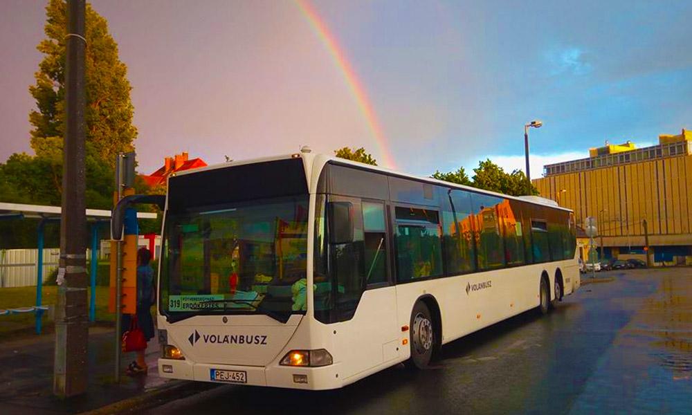 Pótlóbuszok járnak Soroksár és Dunaharaszti vonalon