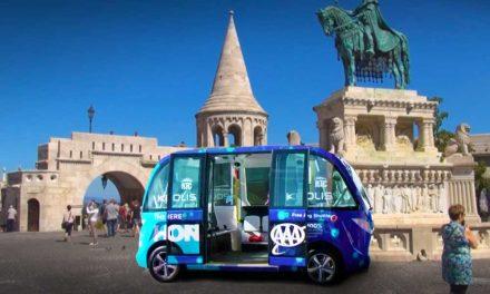 Önvezető buszok Budapesten, a Várban indulhat a próbaüzem