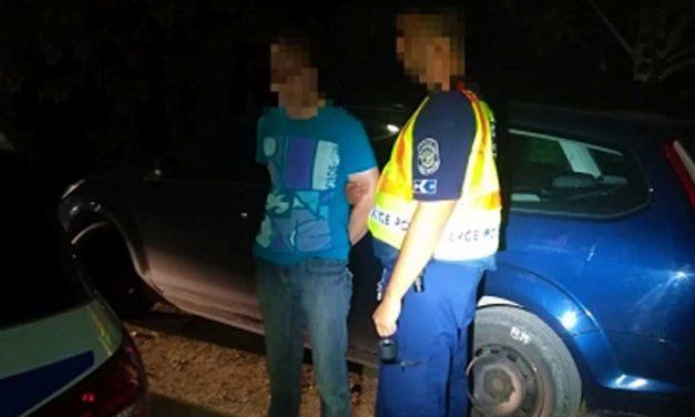 Tetten érték a Buda környéki fosztogatót, a tulaj hívta a rendőröket – VIDEÓ!