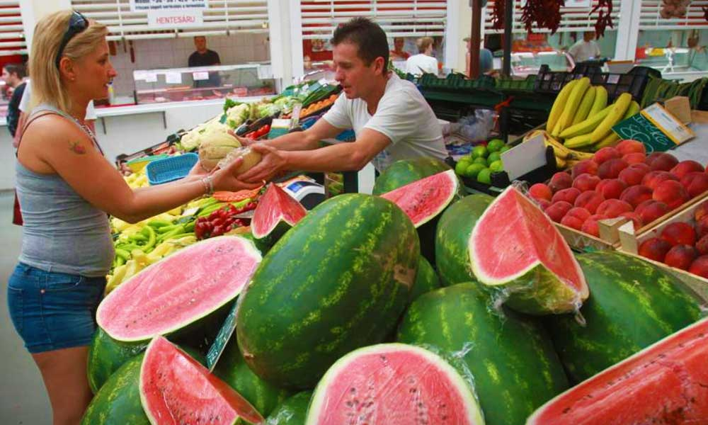 Megjött a magyar dinnye az agglomeráció szupermarketjeibe