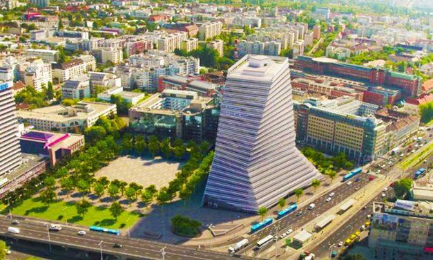 Az agglomerációból is látszik majd Budapest új felhőkarcolója – friss képek!