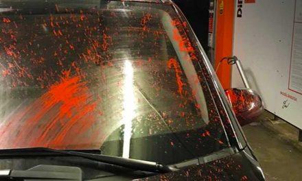 Vigyázz a ferihegyi gyorsforgalmin!  Festékpuskával lövöldözik az autókat