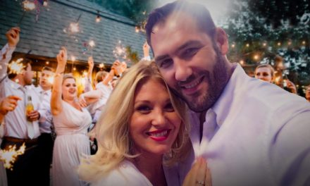 Liptai Claudia Érdre ment férjhez, a tortát a vőlegény készítette