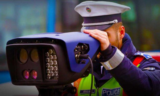 Traffipax-razzia: a rendőrök is megdöbbentek, hogy a 3. kerületben fél nap alatt 219 gyorshajtót kapcsoltak le