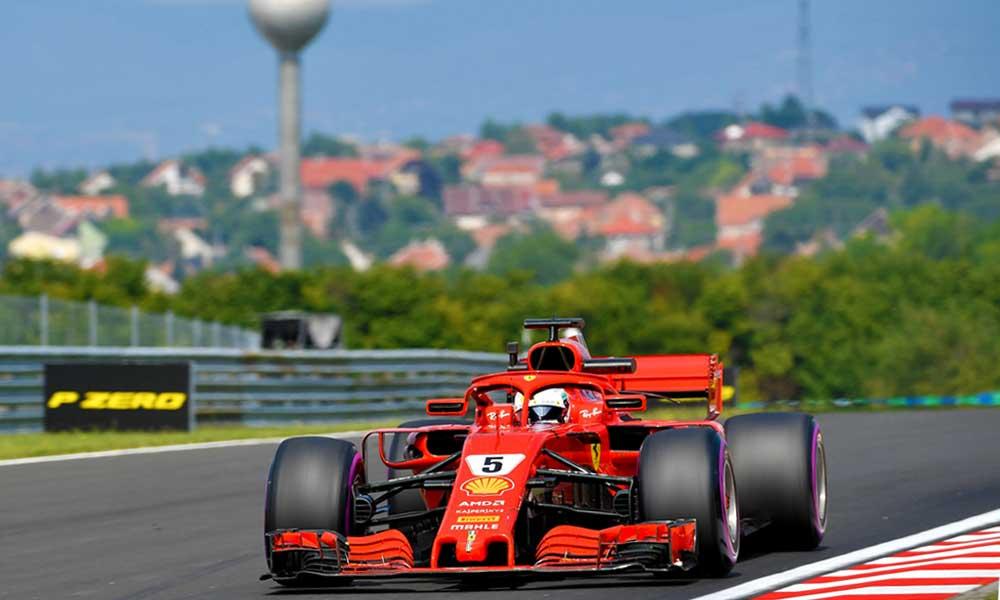 F1 -Magyar Nagydíj, Ricciardo volt a leggyorsabb az első szabadedzésen