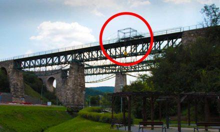 Valami furcsa dolog készül a biatorbágyi viadukton, már épül a szerkezet