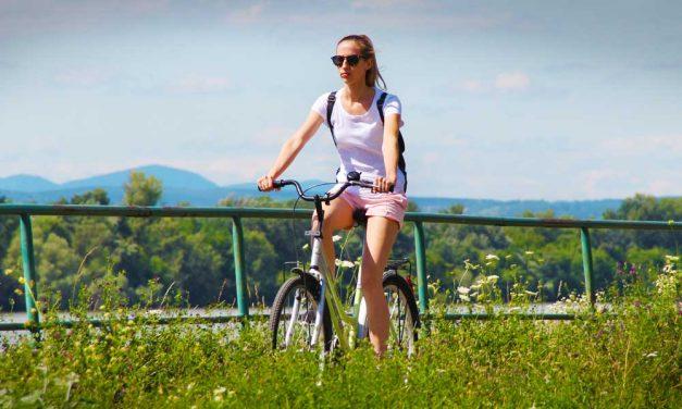 Kiemelt beruházás lett a bicikliút Dunakeszi és Fót között