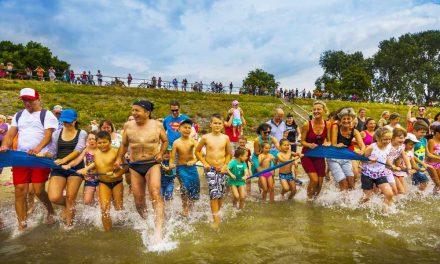 Élő kakaós csiga a Dunában, nemzetközi esemény Gödön!