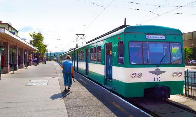 Három hétig nem lehet HÉV-vel utazni Pomázra és Szentendrére