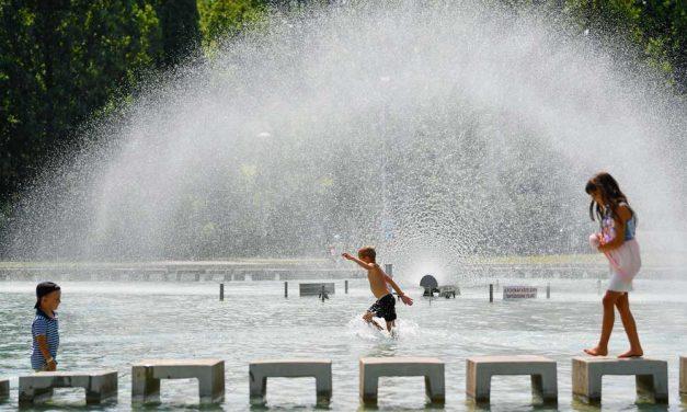 Forró nyár: Szerdától hőségriasztás van érvényben egészen vasárnapig