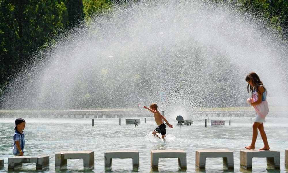Nem volt még ilyen hőség, két fővárosi melegrekord is megdőlt