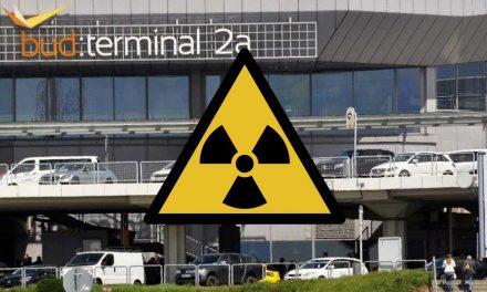 Repülőtérzár: nem volt külsérelmi nyom a radioaktív anyagot szállító konténeren