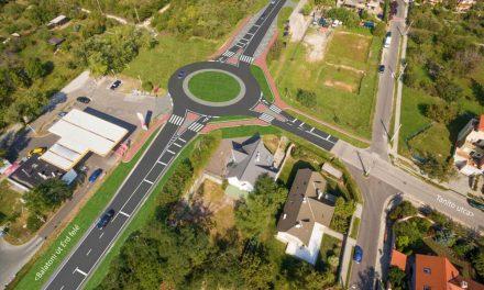 Biztonságosabb lesz a közlekedés Érd felé, két új körforgalom épül a Balatoni úton