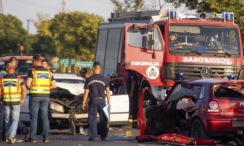 Tömegkarambol történt az M7-esen Törökbálintnál