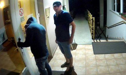 Őket keresi most a rendőrség! Pénzt loptak az éjszaka közepén