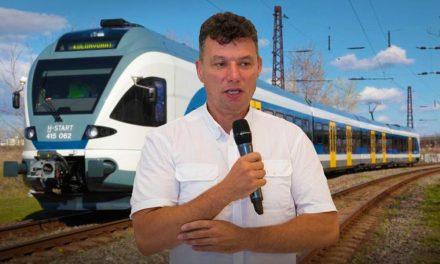 Megint bepöccent Dunakeszi polgármestere, nem tűri tovább a vonatok késését