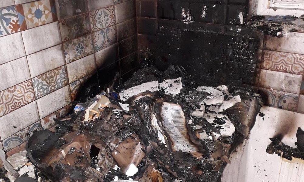 Csúnyán kiégett egy konyha Érden