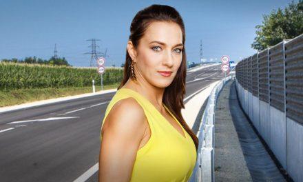 Az M0-áson okozott balesetet a színésznő, vádat emelnek ellene