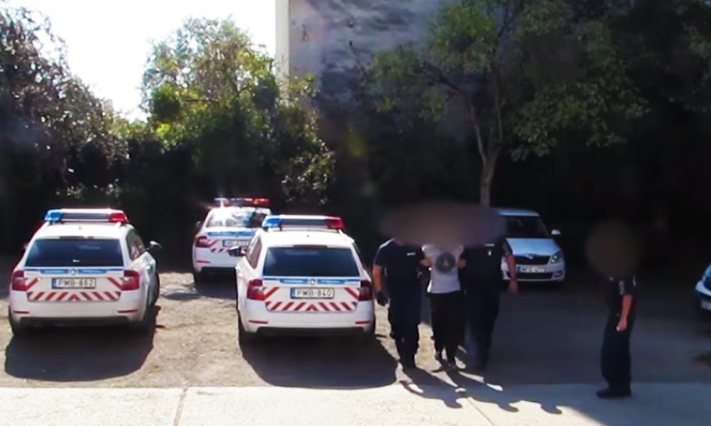 Fegyvert rántott és a polgárőrre lőtt, aztán elmenekült. Most elkapták a rendőrök – Videó