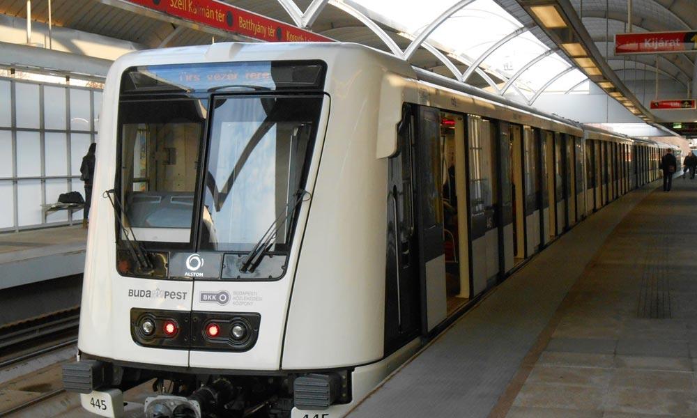 Kacsák miatt nem jár a metró az Örs és a Puskás Ferenc Stadion között