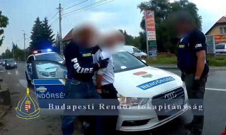 Gyors és látványos rajtaütés Pécelen, elkapták a rablókat – VIDEÓ!
