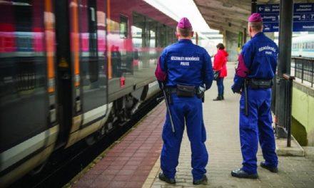 Csütörtökön nagy rendőrségi razzia lesz az állomásokon és a vonatokon