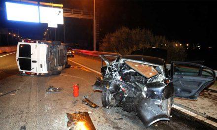 Buszbaleset az M5-ös bevezetőjén, többen megsérültek