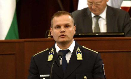 Kinevezték az új budapesti rendőr-főkapitányt