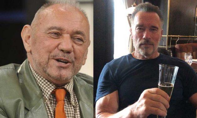 A Gödön élő Koncz Gábor a budapesti éjszakába vitte Arnold Schwarzeneggert