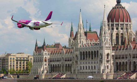 Egyre több repülőgép közlekedik a magyar légtérben és az agglomeráció felett