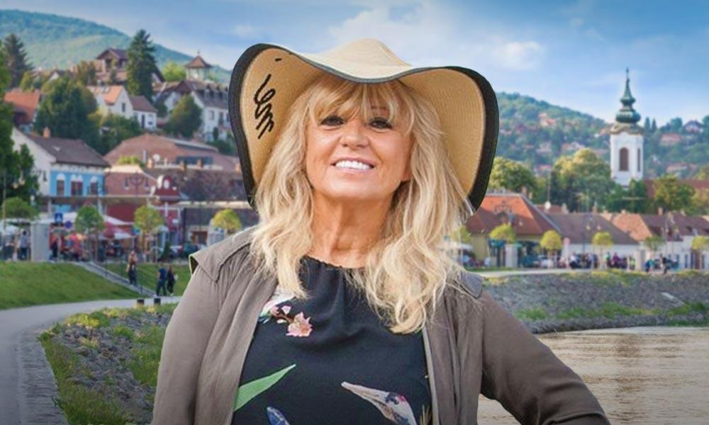 Csepregi Éva nem kockáztat a dugókkal – születésnapi interjú a Szentendrén élő énekesnővel