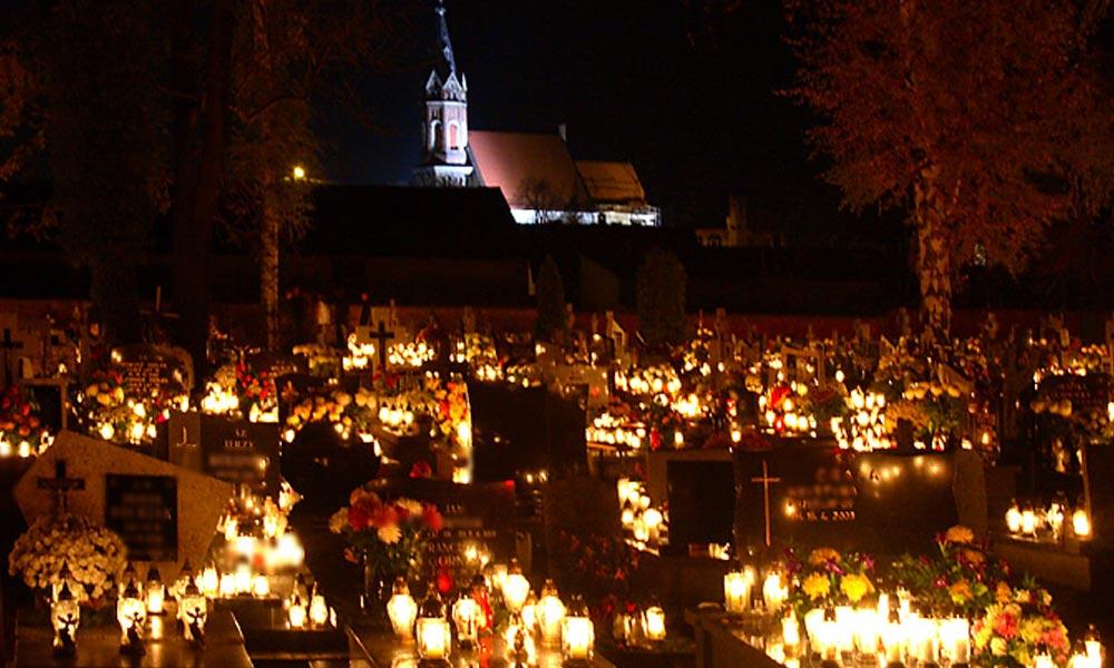 A rendőrség azt javasolja, hogy sötétedés után senki se menjen a temetőkbe