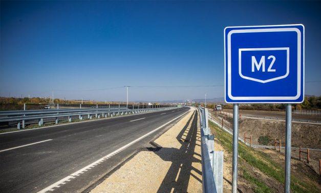 Lezárják az M2 gyorsforgalmi utat