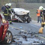 Halálos baleset történt az M2-esen Gödnél, hiába érkezett a mentőhelikopter