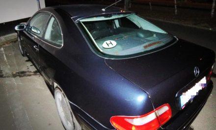 Másik autó rendszámával közlekedett, lekapcsolták Budaörsön