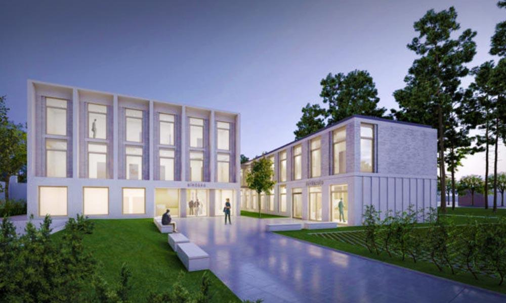 Trendi és modern lesz az a fontos épület, amelyben emberek sorsáról döntenek