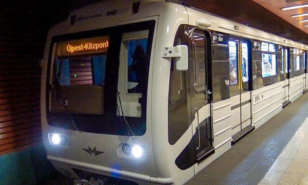 Szilveszterkor egész éjjel járnak a metrók és a HÉV-ek
