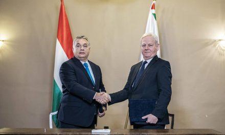 Orbán Viktor: Budapest ma óriási, 1000 milliárdos fejlesztés kapujában áll