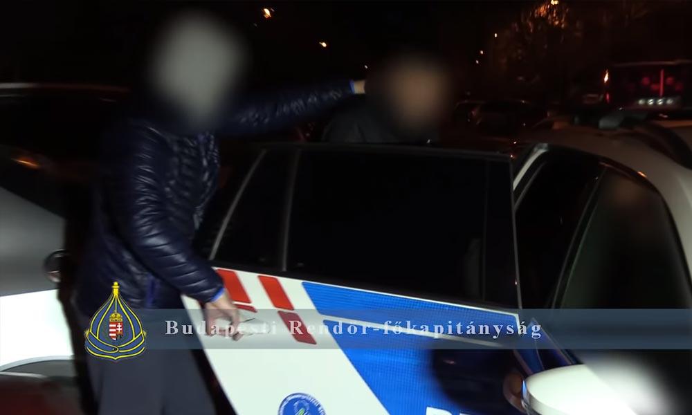Lopás közben kapták el az autótolvajokat – Videó