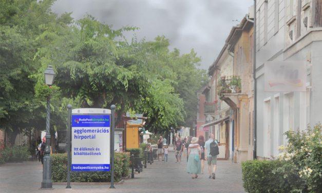 Légszennyezettség: Baj van a fővárosban és két agglomerációs településen