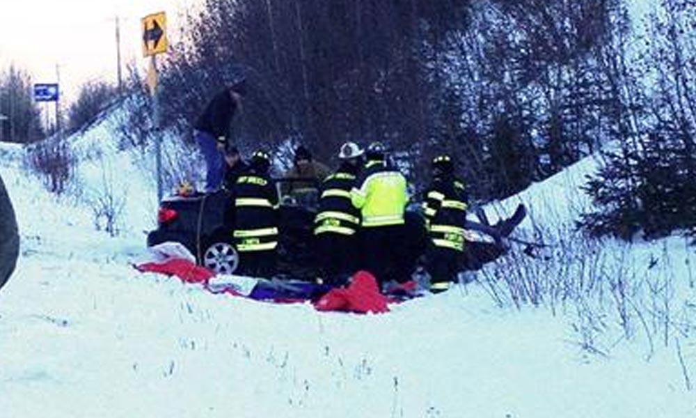 Szánkóbalesetet szenvedett három gyerek Gödöllőnél, súlyos a sérülésük